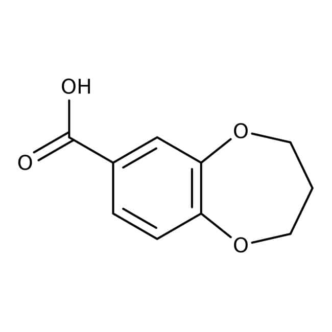 3,4-Dihydro-2H-1,5-benzodioxepine-7-carboxylic acid, 97%, Maybridge