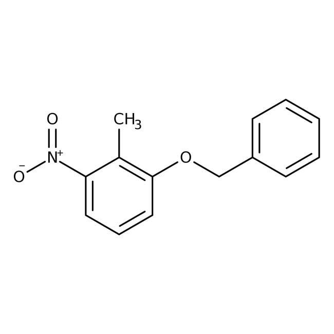 Alfa Aesar™1-Benzyloxy-2-methyl-3-nitrobenzene, 98%