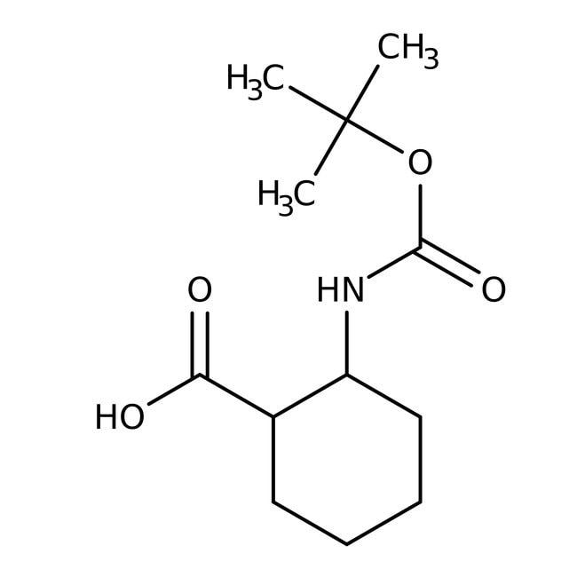Alfa Aesar™trans-2-(Boc-amino)cyclohexanecarboxylic acid, 97%
