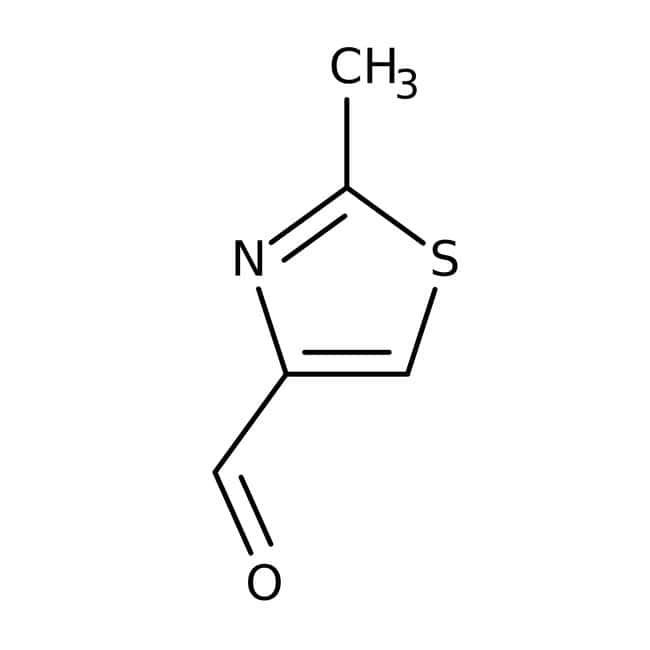 2-Methyl-1,3-thiazole-4-carbaldehyde, 97%, Maybridge™ 5g 2-Methyl-1,3-thiazole-4-carbaldehyde, 97%, Maybridge™