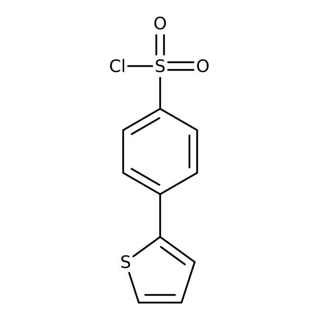 4-(2-Thienyl)benzenesulfonyl chloride, 95%, ACROS Organics™