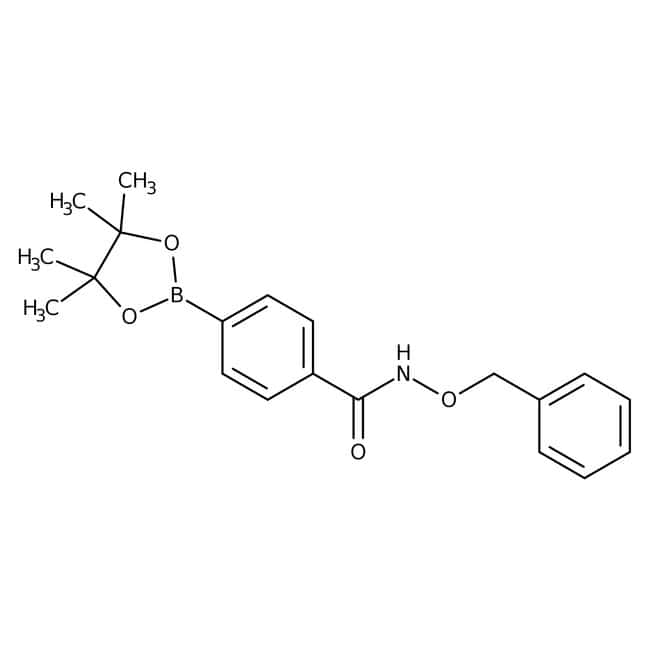 Alfa Aesar™4-(Benzyloxycarbamoyl)benzeneboronic acid pinacol ester, 95% 5g Alfa Aesar™4-(Benzyloxycarbamoyl)benzeneboronic acid pinacol ester, 95%