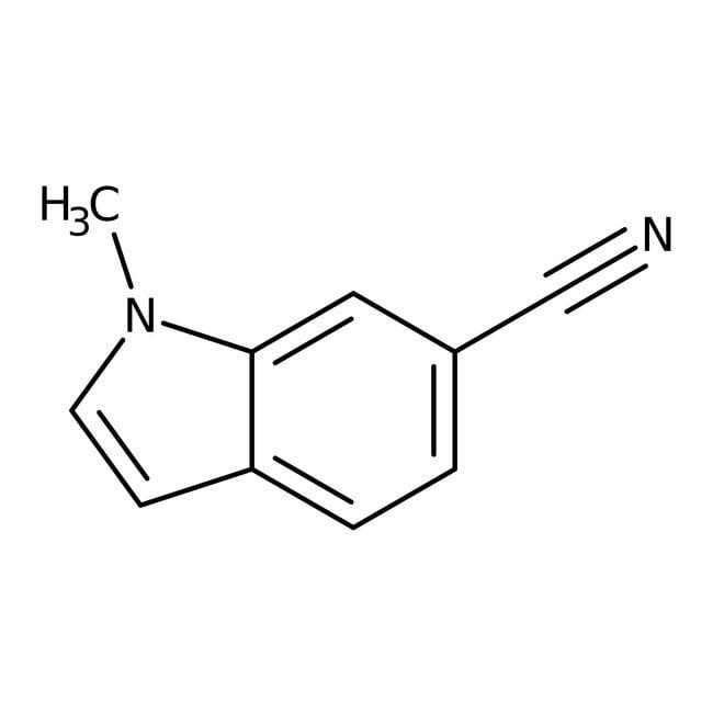 Alfa Aesar™6-Cyano-1-methylindole, 97% 1g Alfa Aesar™6-Cyano-1-methylindole, 97%