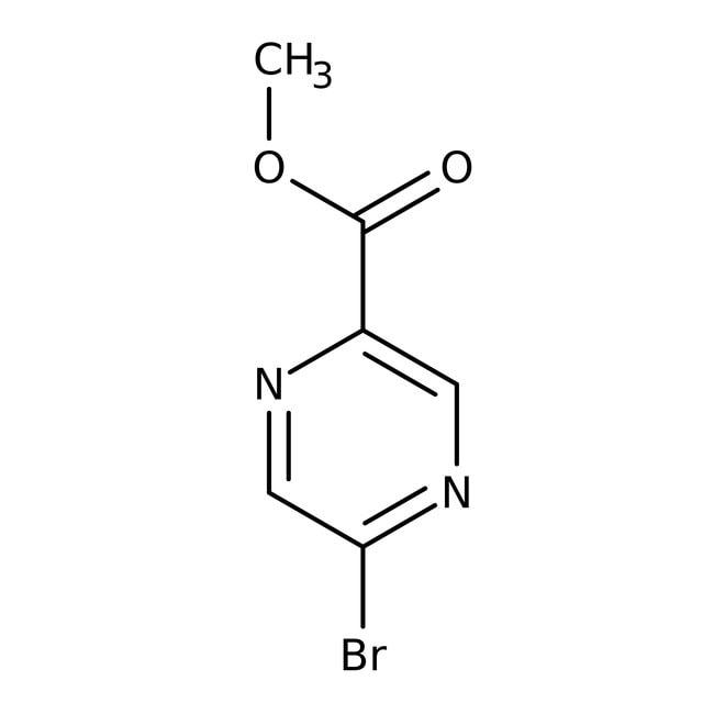 Alfa Aesar  Methyl 5-bromopyrazine-2-carboxylate, 97%
