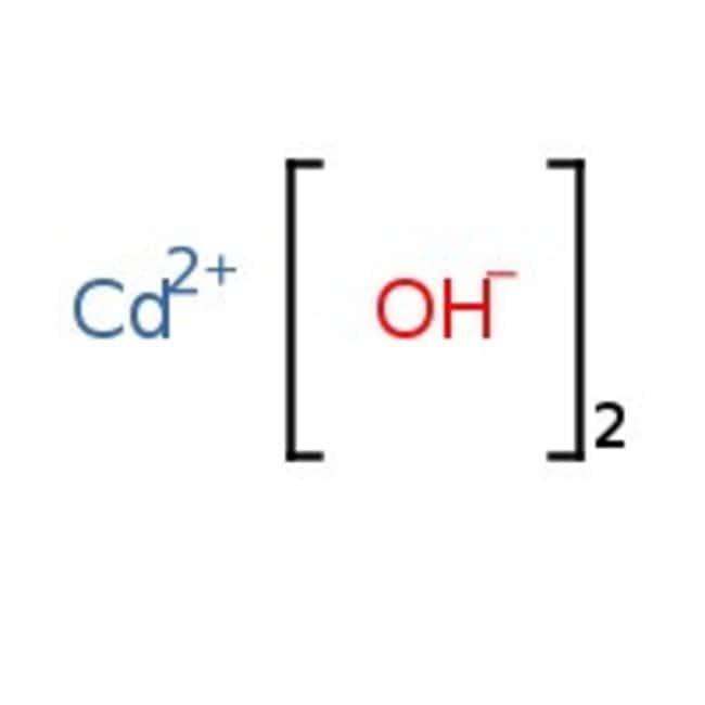 Cadmium hydroxide, 75%(as Cd), pure, Acros Organics 1kg Cadmium hydroxide, 75%(as Cd), pure, Acros Organics