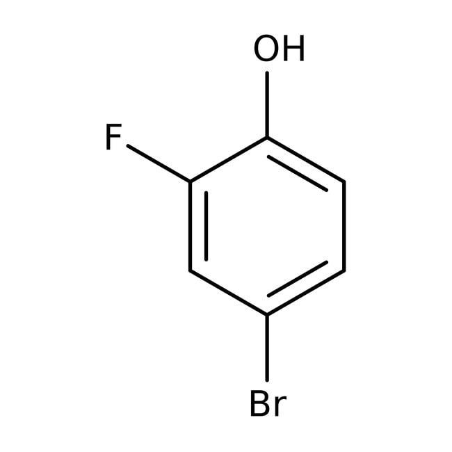 4-bromo-2-fluorophénol, 98%, ACROS Organics™ 5g; flacon en verre 4-bromo-2-fluorophénol, 98%, ACROS Organics™