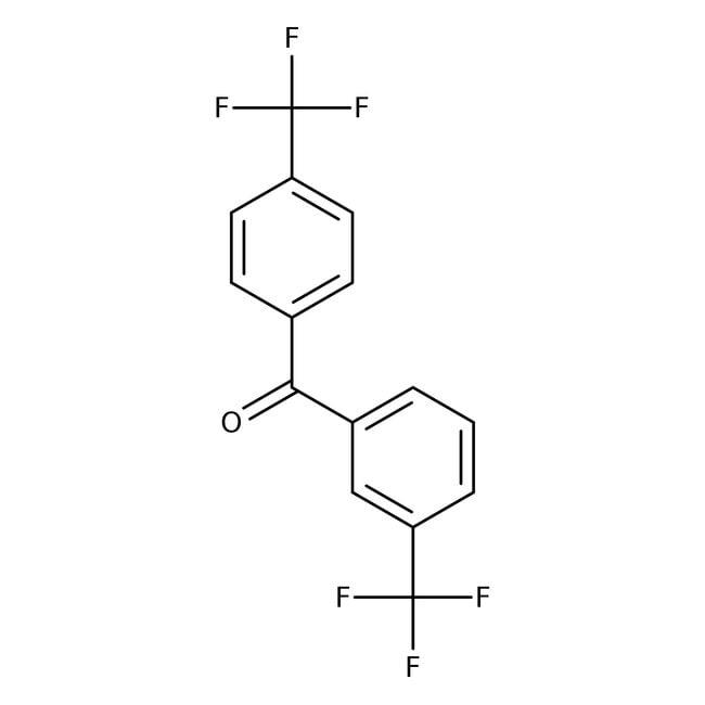 Alfa Aesar™3,4'-Bis(trifluoromethyl)benzophenone, 99% 25g Alfa Aesar™3,4'-Bis(trifluoromethyl)benzophenone, 99%