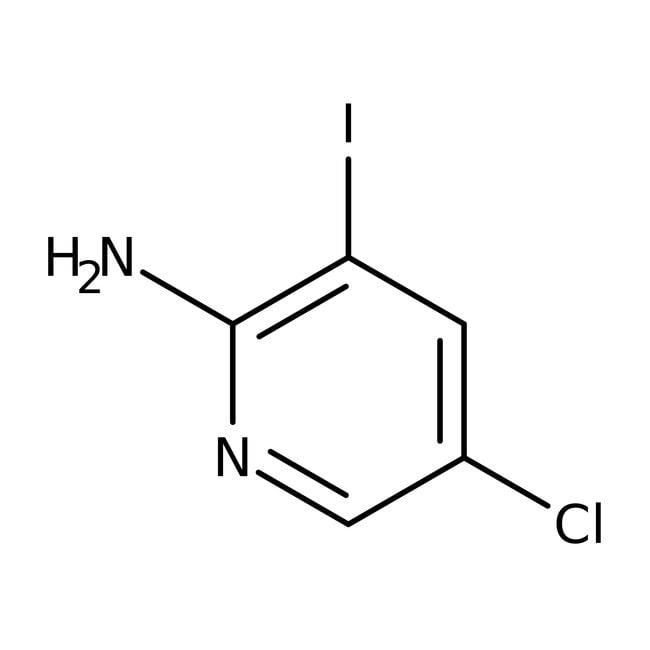 Alfa Aesar™2-Amino-5-chloro-3-iodopyridine, 95% 250mg Alfa Aesar™2-Amino-5-chloro-3-iodopyridine, 95%