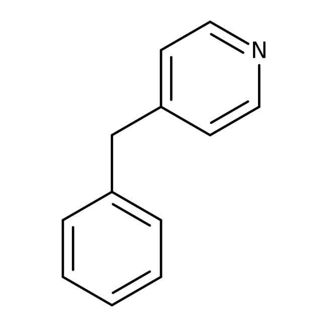 4-Benzylpyridine, 97%, Acros Organics 5mL; Glass bottle 4-Benzylpyridine, 97%, Acros Organics