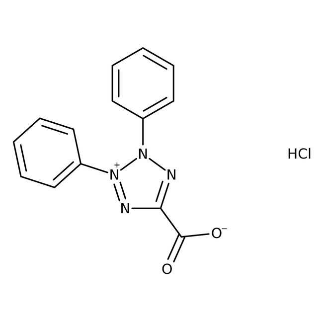 2,3-Diphenyl-5-carboxytetrazolium Chloride 96.0 %, TCI America