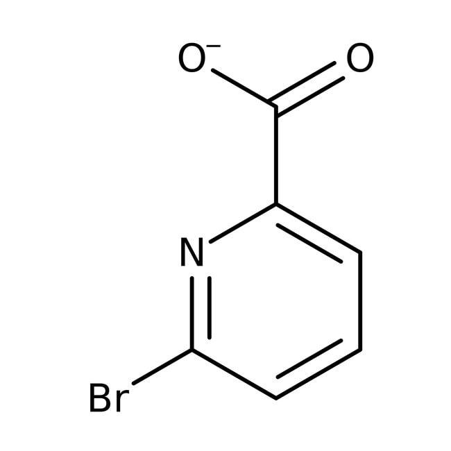 6-Bromopicolinic acid, 98%, ACROS Organics™ Glass bottle; 5g 6-Bromopicolinic acid, 98%, ACROS Organics™