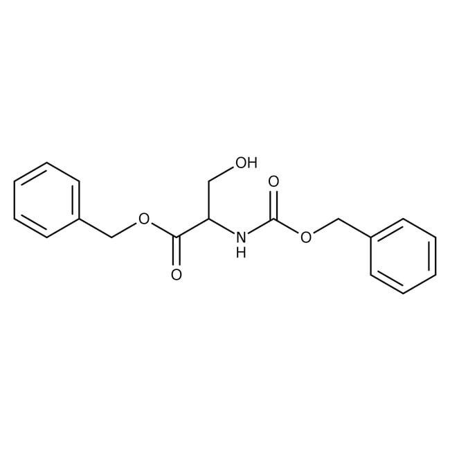 Alfa Aesar™N-Benzyloxycarbonyl-L-serine benzyl ester, 99% 5g Alfa Aesar™N-Benzyloxycarbonyl-L-serine benzyl ester, 99%
