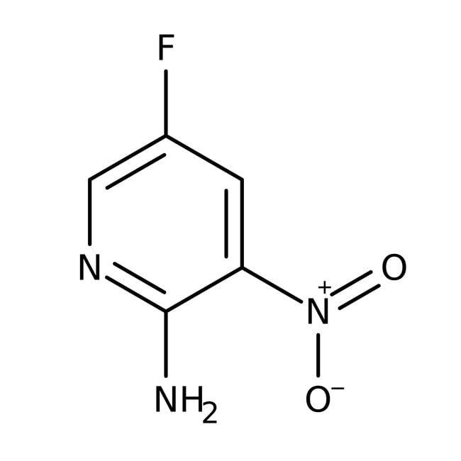 Alfa Aesar™2-Amino-5-fluoro-3-nitropyridine, 98% 5g Alfa Aesar™2-Amino-5-fluoro-3-nitropyridine, 98%
