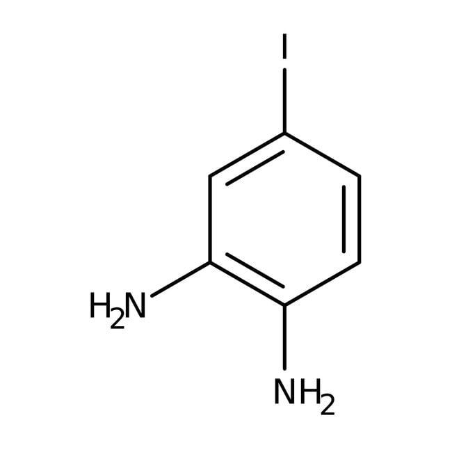 Alfa Aesar™4-Iodo-o-phenylenediamine, 95% 250mg Alfa Aesar™4-Iodo-o-phenylenediamine, 95%
