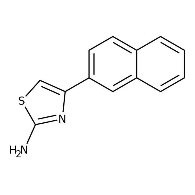 Alfa Aesar™2-Amino-4-(2-naphthyl)thiazole, 98%: Thiazoles Azoles