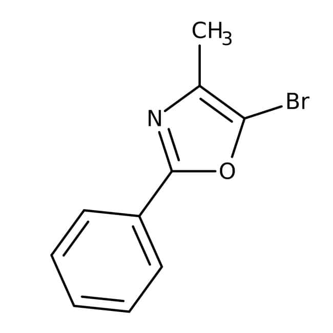 5-Bromo-4-methyl-2-phenyl-1,3-oxazole, 95%, Maybridge™: Oxazoles Azoles
