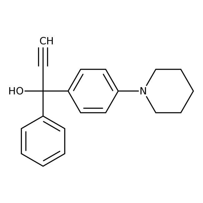 1-Phenyl-1-[4-(1-piperidinyl)phenyl]-2-propyn-1-ol, 97%, Alfa Aesar™