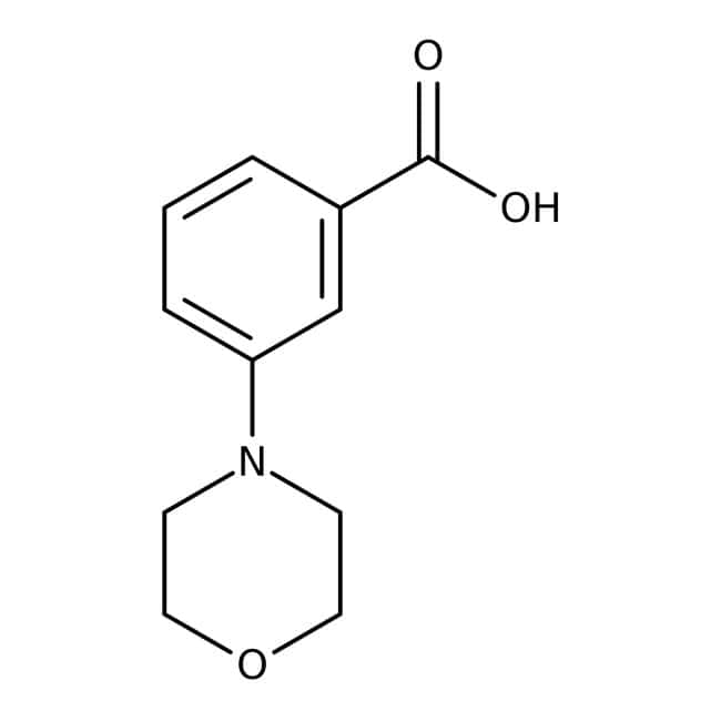 3-Morpholinobenzoic acid, 97%, Maybridge™: Morpholines Oxazinanes