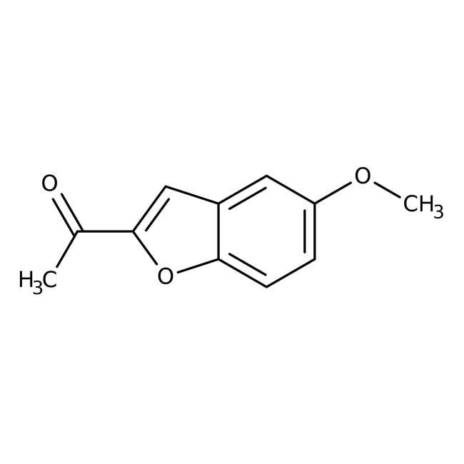 2-Acetyl-5-methoxybenzo[b]furan, 97+%, Alfa Aesar™ 250mg 2-Acetyl-5-methoxybenzo[b]furan, 97+%, Alfa Aesar™