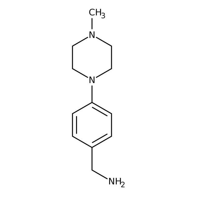 4-(4-Methylpiperazin)-benzylamin, ≥90%, Maybridge Braunglasflasche, 1g 4-(4-Methylpiperazin)-benzylamin, ≥90%, Maybridge