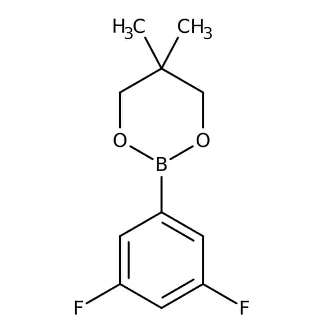 Alfa Aesar™3,5-Difluorobenzeneboronic acid neopentyl glycol ester, 98+% 1g prodotti trovati