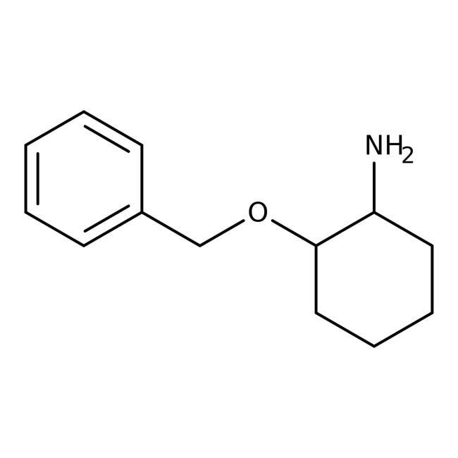 Alfa Aesar™(1S,2S)-(+)-2-benzyloxycyclohéxylamine, ChiPros 99+%, ee 99% 1g Alfa Aesar™(1S,2S)-(+)-2-benzyloxycyclohéxylamine, ChiPros 99+%, ee 99%