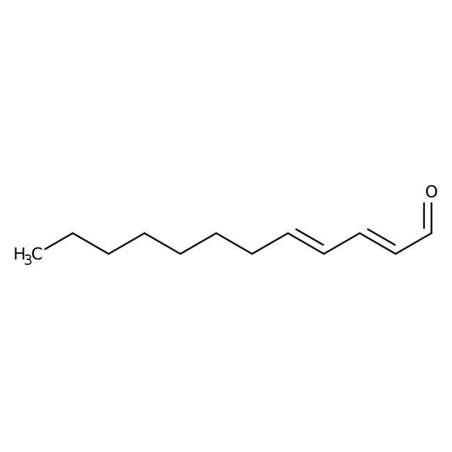 Alfa Aesar™trans,trans-2,4-Dodecadienal, 90+%, remainder mainly trans, cis isomer 5g Alfa Aesar™trans,trans-2,4-Dodecadienal, 90+%, remainder mainly trans, cis isomer