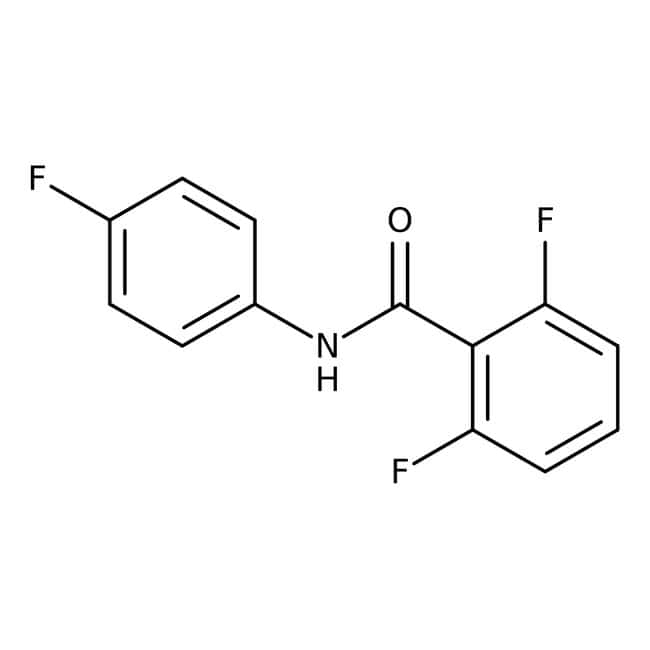 Alfa Aesar™2,6-Difluoro-N-(4-fluorophenyl)benzamide, 97% 1g Alfa Aesar™2,6-Difluoro-N-(4-fluorophenyl)benzamide, 97%