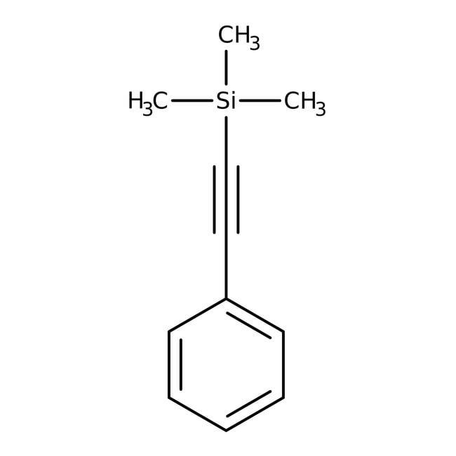 Alfa Aesar™1-Phenyl-2-Trimethylsilylacetylen, 99 % 5g Produkte