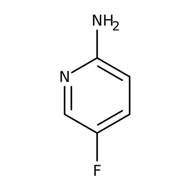 2-Amino-5-fluoropyridine, 95%, ACROS Organics™ 5g; Glass bottle 2-Amino-5-fluoropyridine, 95%, ACROS Organics™