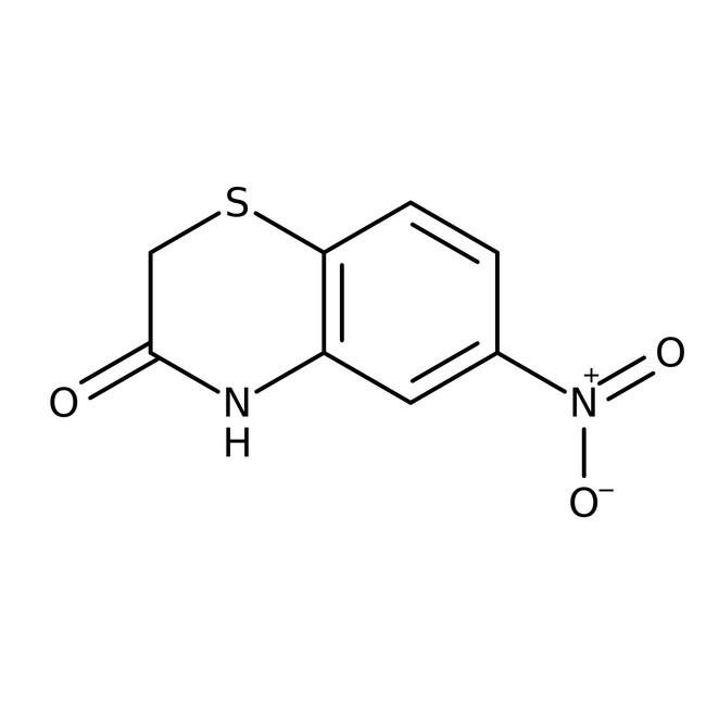 Alfa Aesar™6-Nitro-2H-1,4-benzothiazin-3(4H)-one, 97%