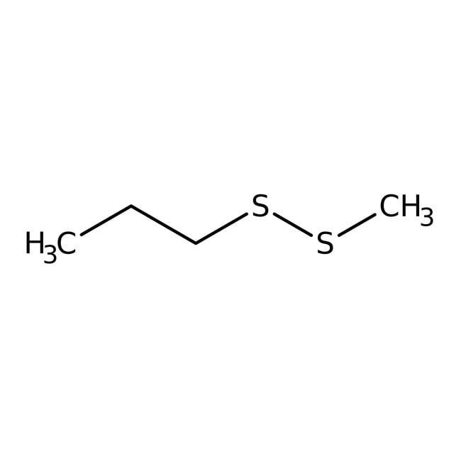 Methyl propyl disulfide, 80%, Tech., ACROS Organics