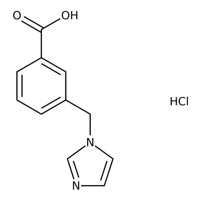 3-(1H-Imidazol-1-ylmethyl)benzoic acid hydrochloride, Tech., Maybridge™ 250mg 3-(1H-Imidazol-1-ylmethyl)benzoic acid hydrochloride, Tech., Maybridge™