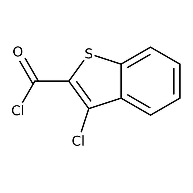 3-Chlorobenzo[b]thiophene-2-carbonyl chloride, 97%, Maybridge