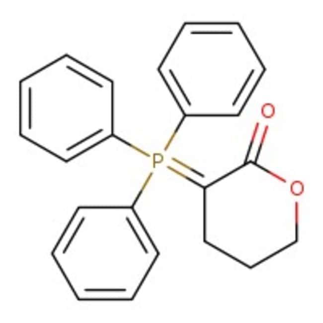 3-(Triphenylphosphoranylidene)tetrahydropyran-2-one, 97%, ACROS Organics™