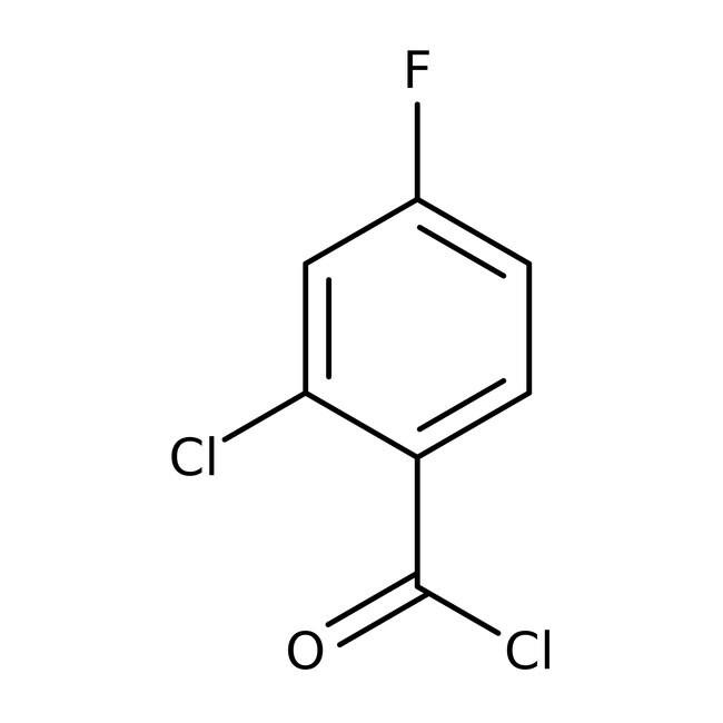 Alfa Aesar™2-Chloro-4-fluorobenzoyl chloride, 97% 1g Alfa Aesar™2-Chloro-4-fluorobenzoyl chloride, 97%