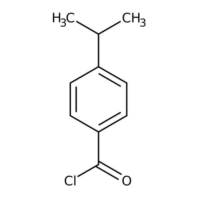 Alfa Aesar™4-Isopropylbenzoyl chloride, 97%: Monoterpenoids Prenol lipids