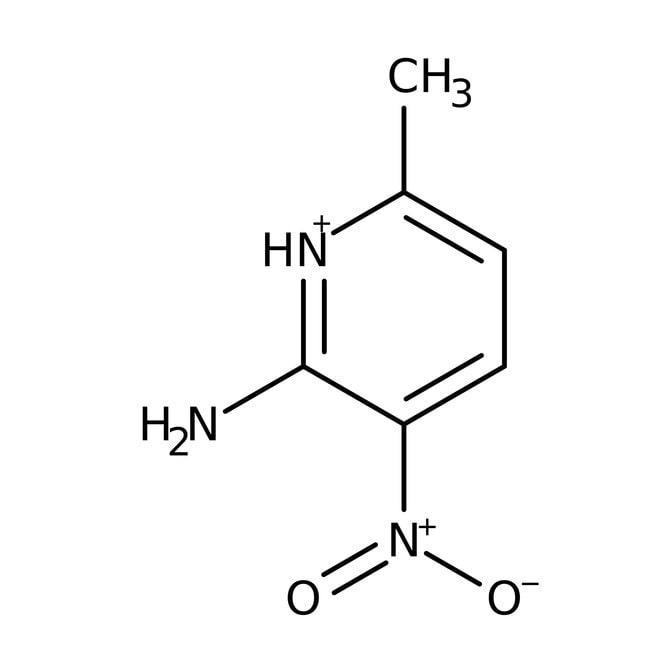 Alfa Aesar™2-Amino-6-methyl-3-nitropyridine, 98% 25g Alfa Aesar™2-Amino-6-methyl-3-nitropyridine, 98%