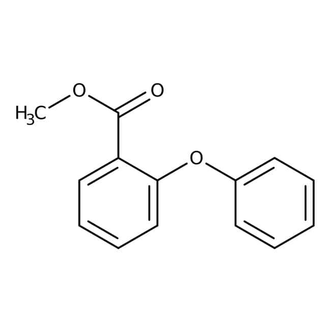 Alfa Aesar™ Methyl 2-phenoxybenzoate, 99%: Benzene and substituted derivatives Benzenoids