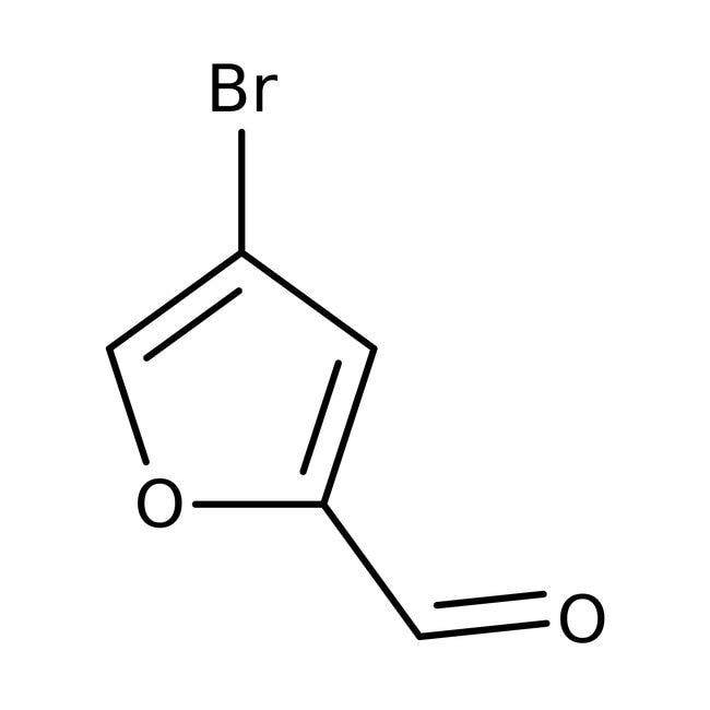 4-Bromo-2-furaldehyde, 97%, ACROS Organics™ 1g, Glass bottle 4-Bromo-2-furaldehyde, 97%, ACROS Organics™