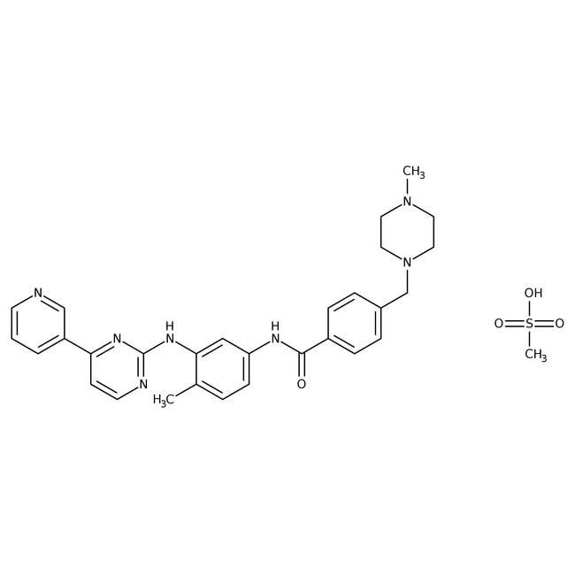 Mésylate d'imatinib, 98%, AcrosOrganics™: Pyrimidines and pyrimidine derivatives Diazines
