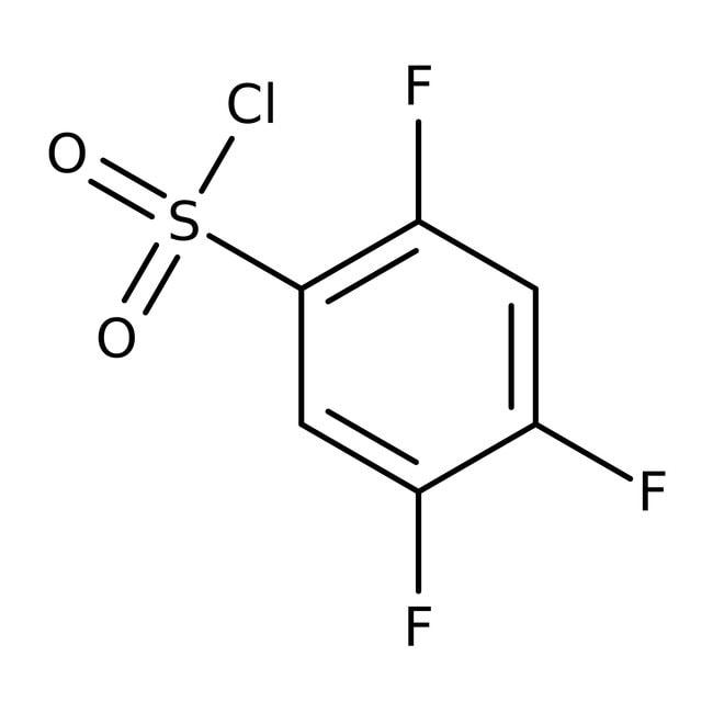2,4,5-Trifluorobenzenesulfonyl chloride, 97%, Acros Organics