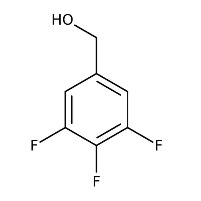 Alfa Aesar™ 3,4,5-Trifluorobenzyl alcohol, 97%: Benzene and substituted derivatives Benzenoids
