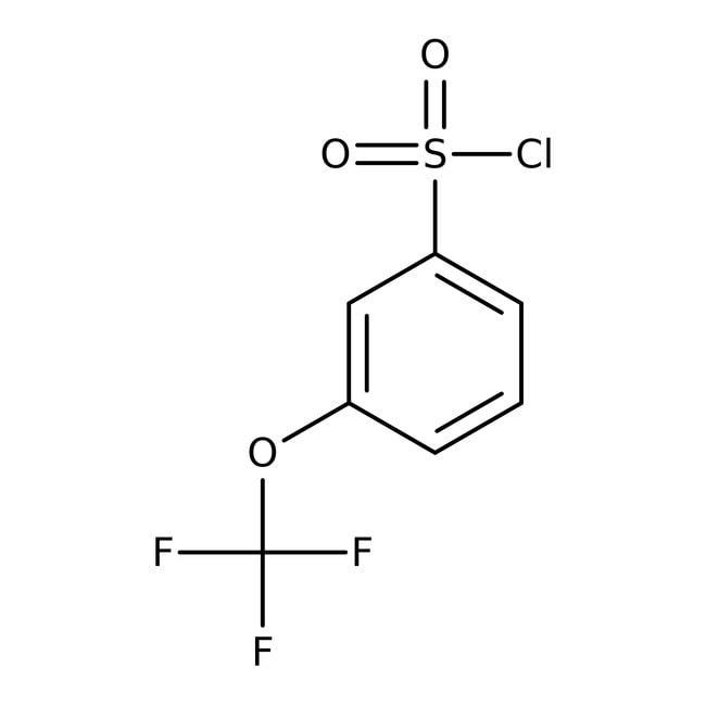 3-(Trifluoromethoxy)benzenesulfonyl chloride, 97%, ACROS Organics™  3-(Trifluoromethoxy)benzenesulfonyl chloride, 97%, ACROS Organics™