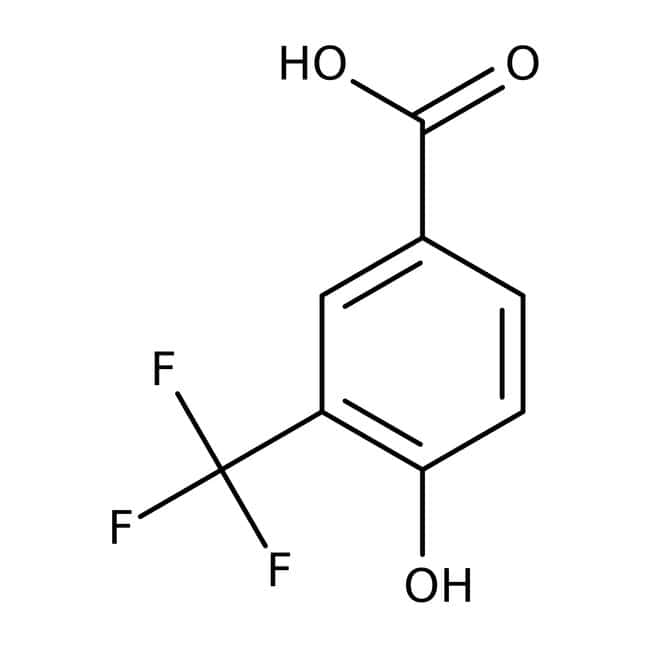 4-Hydroxy-3-(trifluoromethyl)benzoic acid, 97%, Acros Organics