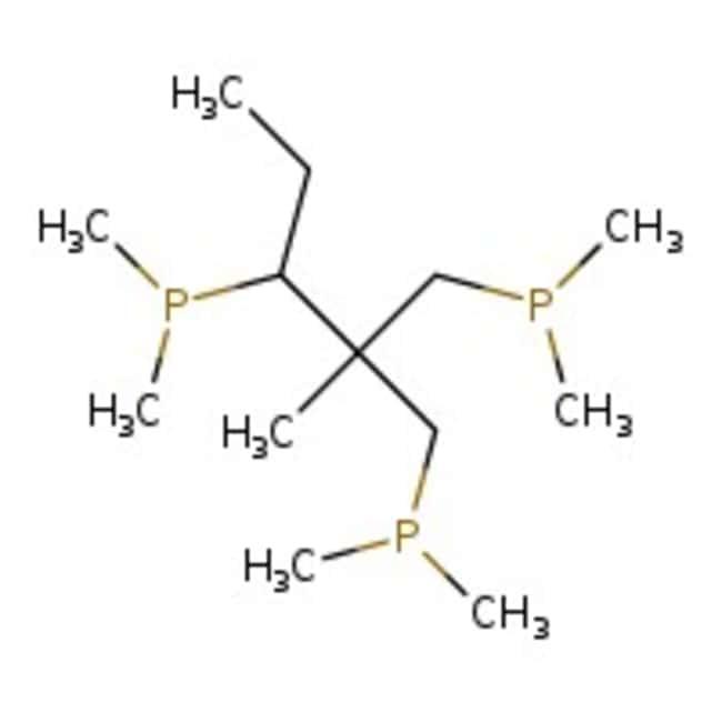 Alfa Aesar™1,1,1-Tris(diphenylphosphinomethyl)ethane, ≥97% 5g Alfa Aesar™1,1,1-Tris(diphenylphosphinomethyl)ethane, ≥97%