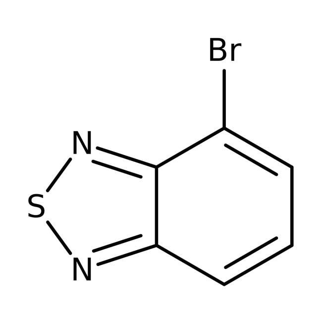 4-Bromo-2,1,3-benzothiadiazole, 97%, Maybridge™ Amber Glass Bottle; 1g 4-Bromo-2,1,3-benzothiadiazole, 97%, Maybridge™