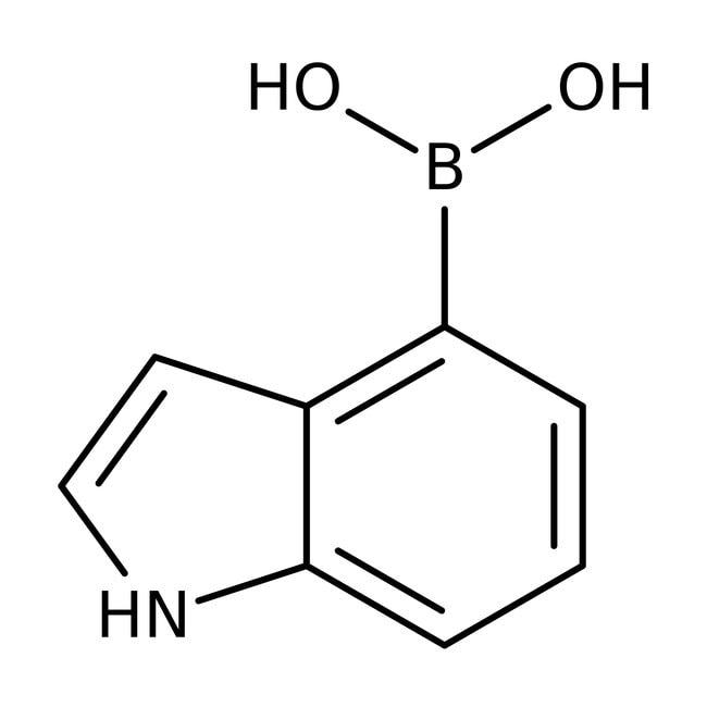 4-Indolylboronic acid, 95%, Acros Organics