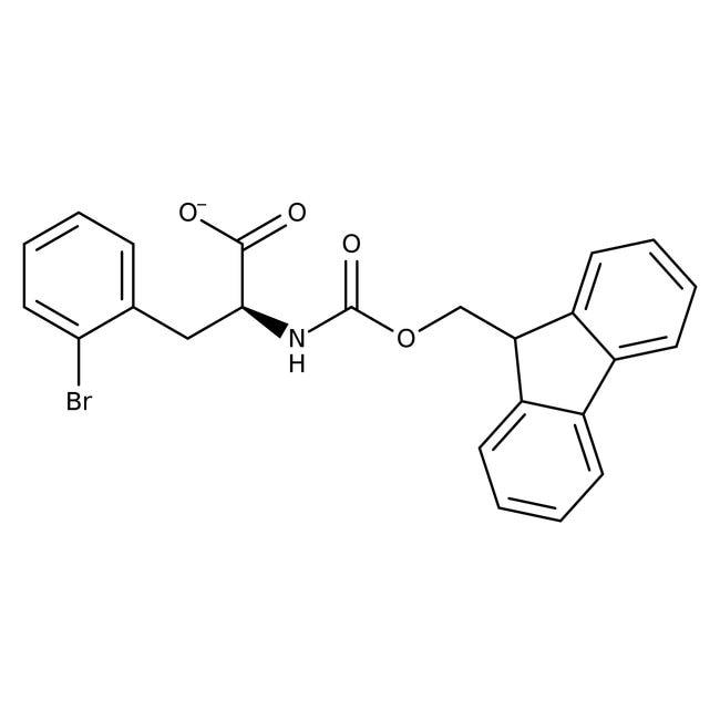 (S)-N-FMOC-2-Bromophenylalanine, 95%, 98% e.e., ACROS Organics
