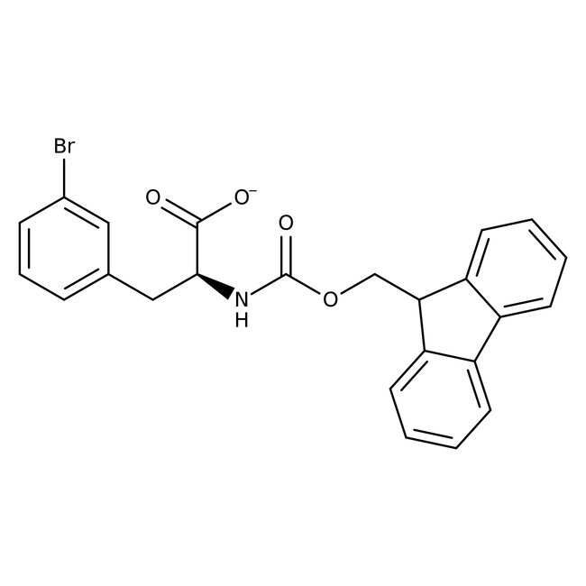 (S)-N-FMOC-3-Bromophenylalanine, 95%, 98% e.e., Acros Organics